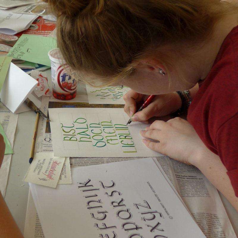 Schrift-Kalligraphie