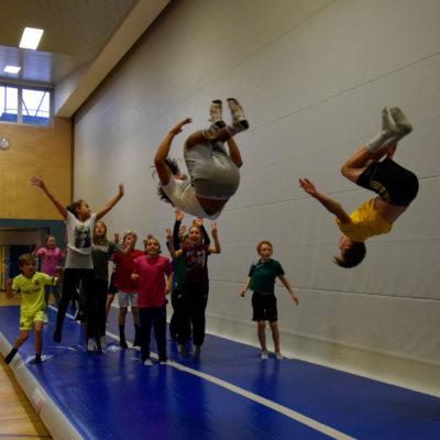 Sporttag der 1. Klassen